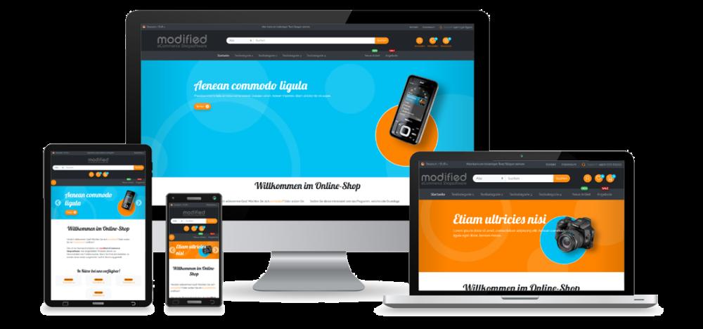 Bootstrap Circles - Responsives Template - fb-tpl05