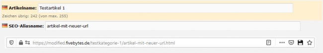 Modul SEO-URLs - fb-mod-001